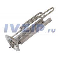 ТЭН для в/н 2500W (НЕРЖ) SPR (фланец 92 мм, с анодом M6, две трубки под термостаты)