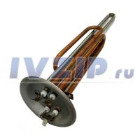 ТЭН для в/н 2500W SPR (медь, фланец 92 мм, под анод M6)