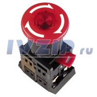 Кнопка СТОП ANE-22 (грибок) с фиксацией (3SA 12-22E-11ZS)