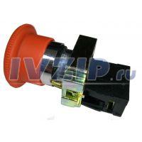 Кнопка СТОП LAY5-BS542 (грибок) с фиксацией