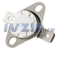 Термостат защитный ZH107-10A-150 (на размыкание, 150°С, 250V, 10A) KSD301-150/08AE215