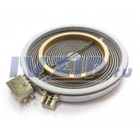 Конфорка стеклокерамическая EGO 2000/1000W (D=230/210mm, 230V) 4342391/8219740/10.51216.412