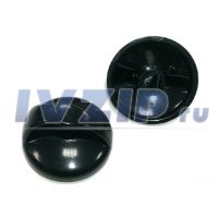 Ручка крана газовой плиты черная RGP2