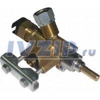 Кран газовый очаговый с клапаном безопасности STG QS-416C (Рабочая температура 0...130°С)