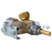 Кран газовый с клапаном безопасности BD 802-PK (рабочая температура 0...160°C)