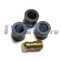 Ремкомплект для заправочных шлангов CH-79583 (3 уплотнителя, депрессор)