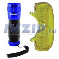 Течеискатель (UV фонарь+очки) UVPRO CPS