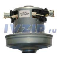 Двигатель пылесоса 1200W (H=106mm, h=40mm, D=109mm, mini, с юбкой) HCX120 1205-CS-TK2L